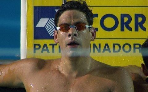 Maria Lenk: Juan Pereyra vence os 1500m livre