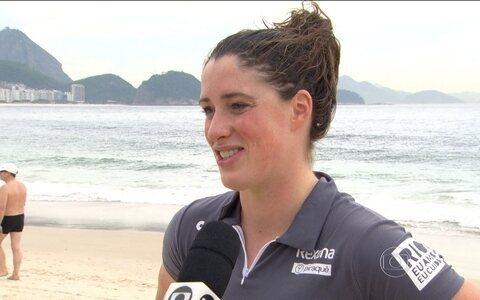 Após Lesão, Christine Jennings volta a Copacabana para a disputa de Rei e Rainha do Mar