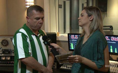 Músico Gilson de Paula fez um disco dedicado ao clube
