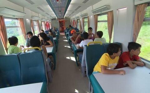 Terra de Minas embarca em viagem de trem até Vitória ()