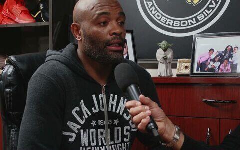 Anderson Silva fala com exclusividade sobre preparação para a luta contra Michael Bisping