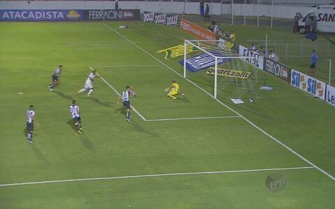 Ponte perde para o Santos em casa e sofre segunda derrota em dois jogos