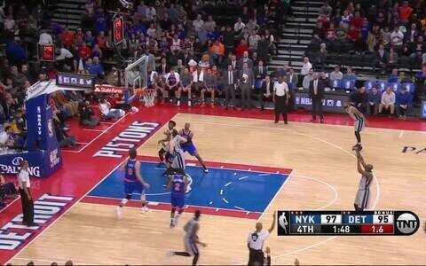 New York Knicks 105 x 111 Detroit Pistons