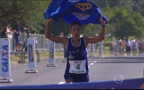 Atleta de corrida do Cruzeiro foi pega em exame anti-dopping em duas ocasiões
