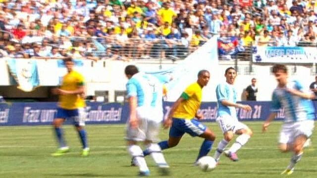 Melhores momentos: Brasil 3 x 4 Argentina em amistoso internacional