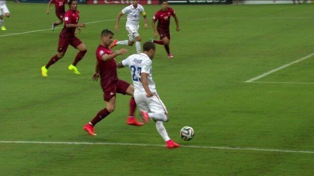 ede9f168ce Melhores momentos de Estados Unidos 2 x 2 Portugal pela 2ª rodada da Copa  do Mundo