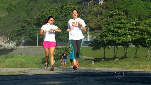 ''Mamãe Gentil'' explica quais os benefícios da corrida durante a gravidez