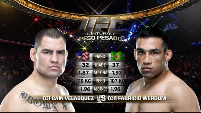 Assista a Werdum x Velásquez no UFC 188