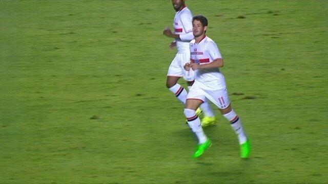 Pato diminui para o Tricolor, 2x1.