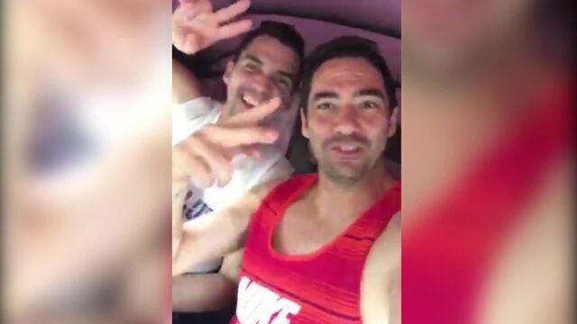 BLOG: Antes de duelo com Léo Moura, Chicão tira onda em rolé de tuque tuque