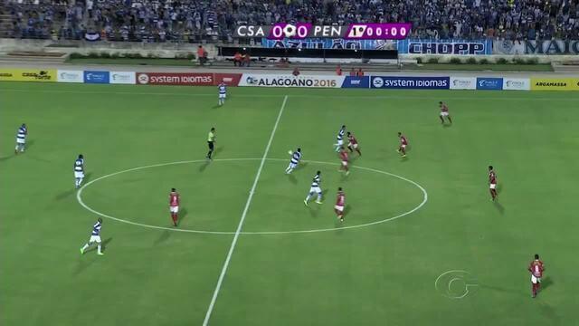 CSA goleira o Penedense e dispara  na liderança do Grupo A
