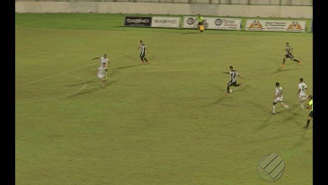 Veja os gols de Paragominas 2 x 3 São Raimundo