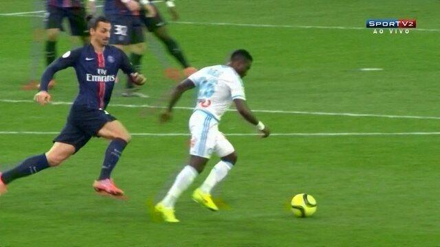 Melhores momentos de Olympique de Marselha 1 x 2 PSG pela 25ª rodada do Francês