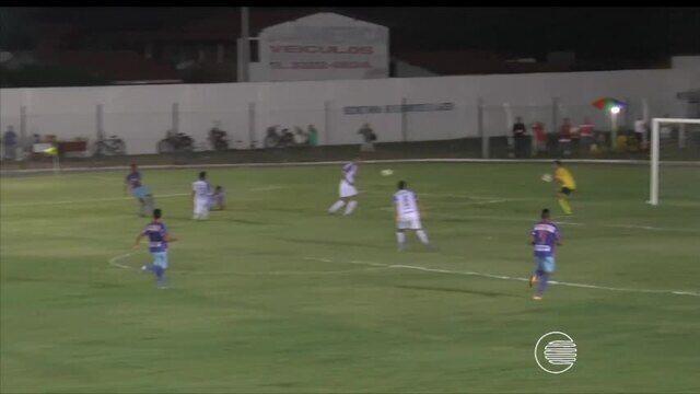 Com Renan e Thiago Granja, Parnahyba vence  a primeira no Campeonato Piauiense. Assista