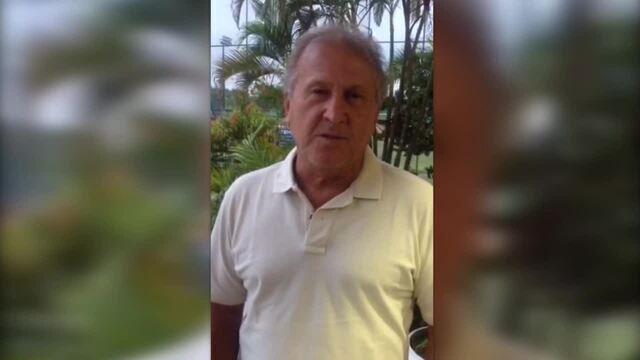 Zico manda mensagem de apoio a Adriano no Miami United