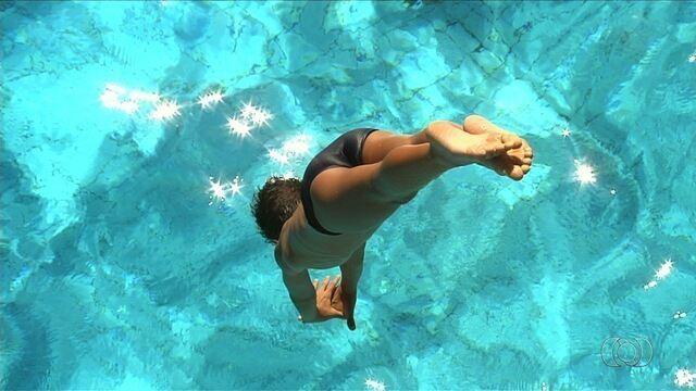 Goiânia recebe torneio  de saltos ornamentais