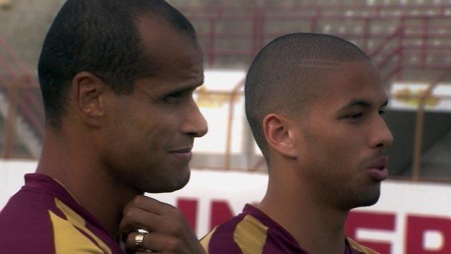 BLOG: #TBT do Foot: contratado pelo Inter, Rivaldinho jogou com o pai em 2015