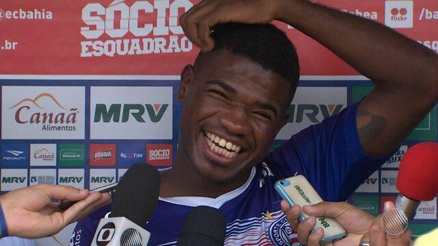 Feijão volta a defender o Bahia nesta  quarta-feira em jogo contra o Joinville