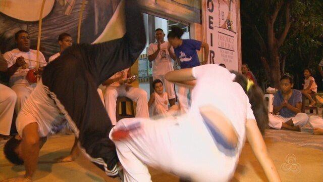 Workshop reúne a turma da capoeira