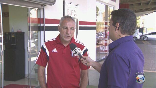 Márcio Fernandes fala com cautela sobre partida contra Juventude