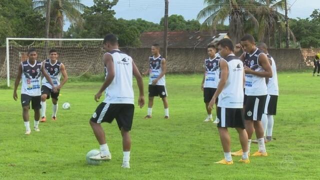 São Raimundo-PA treina em BV para o confronto contra o Náutico-RR