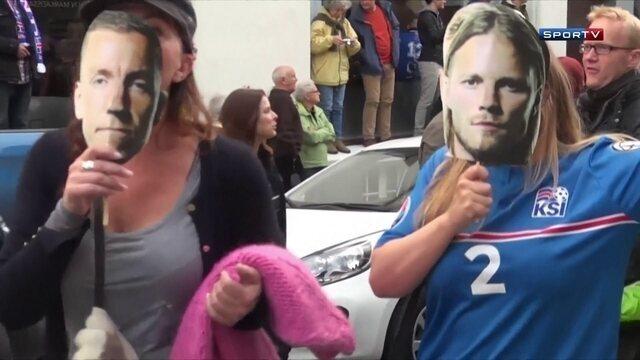 Islândia está em festa com classificação heróica na Eurocopa, após bater a Inglaterra nas oitavas