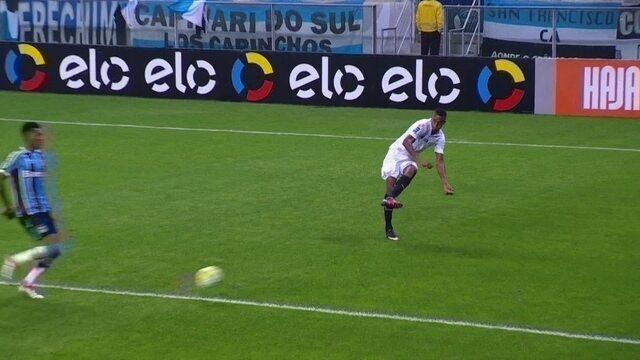 Confira os melhores momentos  de Grêmio 3x2  Santos na Arena