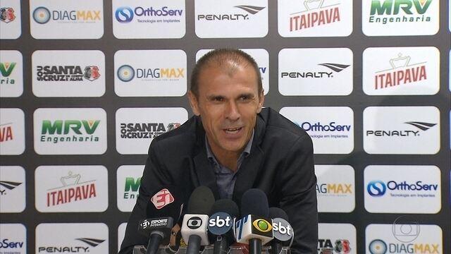 Com alguns desfalques, o Santa Cruz viaja para enfrentar o Atlético-MG, em Belo Horizonte