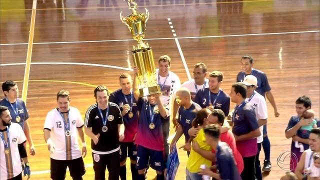 Miranda vence Nova Andradina e conquista título da Copa Morena de futsal 2016
