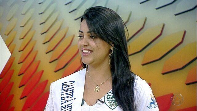 Veja entrevista da Musa da Copa Morena de futsal 2016, Andreia Ortiz