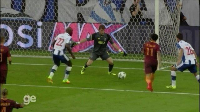Melhores momentos: Porto 1 x 1 Roma pelos playoffs da Liga dos Campeões da Uefa