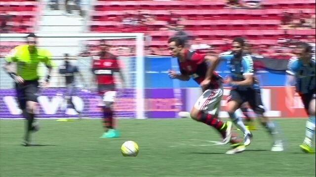 Melhores momentos: Flamengo 2 x 1 Grêmio pela 21ª rodada do Brasileirão 2016