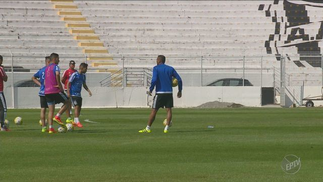 Ponte encerra preparação para confronto diante da Atlético-MG