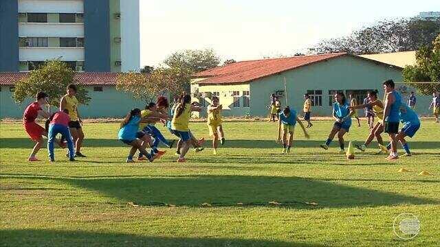 Meninas do Tiradentes se preparam para estrear na Copa do Brasil