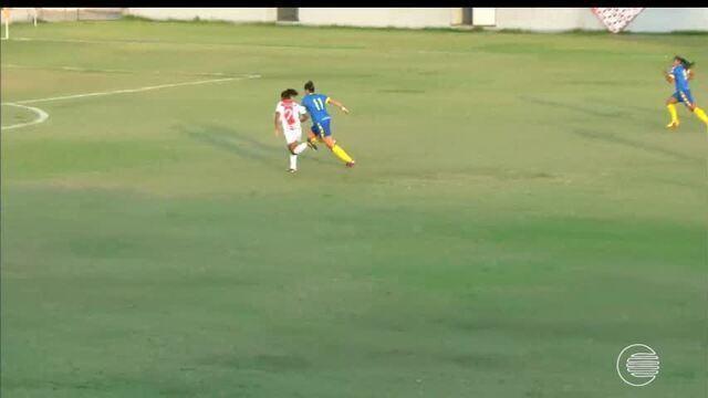Tiradentes estreia com empate na Copa do Brasil de futebol feminino