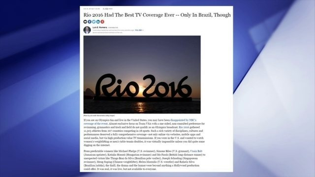 Imprensa internacional elogia programação  do SporTV nos Jogos Olímpicos do Rio