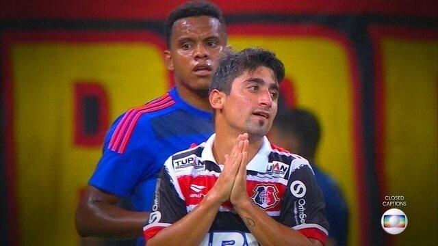 """Clássico das Multidões """"Internacional"""": Santa Cruz e Sport se enfrentam pela Sul-Americana"""