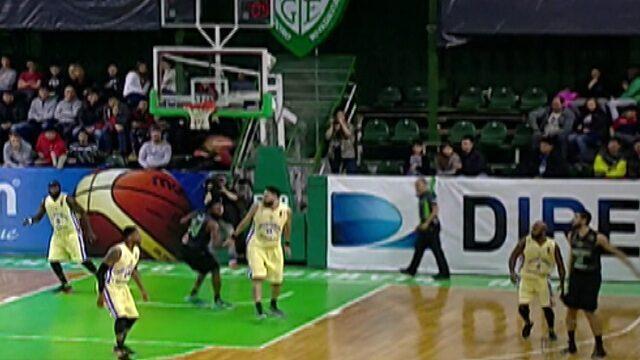 Mogi Basquete bate o Gimnasia pela Liga Sul-Americana de basquete