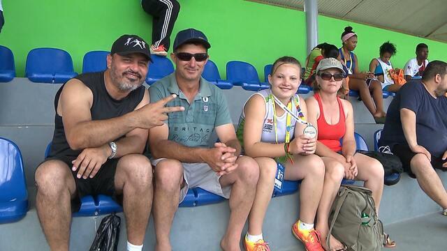 Pequenos atletas contam com apoio de familiares e técnicos nos Jogos Escolares