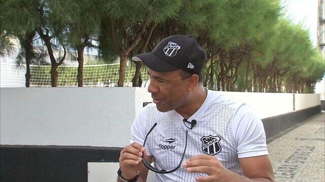 Sérgio Soares fala sobre momento do Ceará na Série B