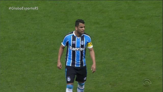 Capitão Maicon é desfalque do Grêmio nos próximos três jogos
