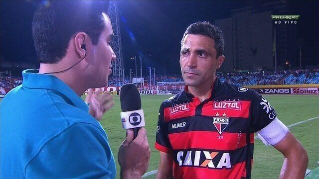 Lino lamenta empate cedido no fim contra o Joinville