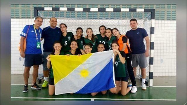 Meninas da Ulbra conquistam medalha de prata no handebol nos Jogos Escolares da Juventude
