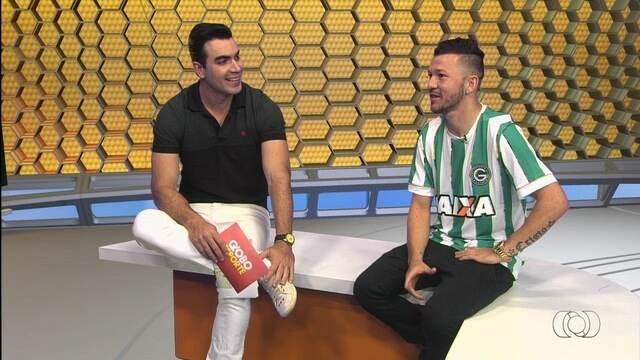 Rossi participa do Globo Esporte e comenta evolução do Goiás