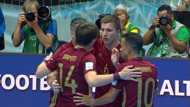 Com brasileiros no time, Rússia encara  a Argentina na decisão do Mundial de futsal