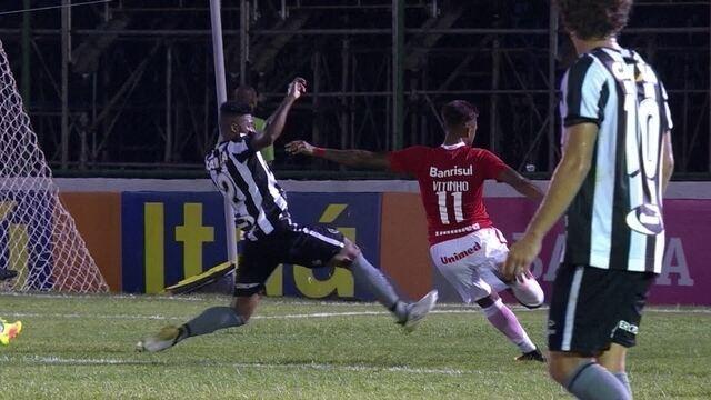 Confira os melhores momentos de Botafogo 1x0 Inter pelo Brasileirão