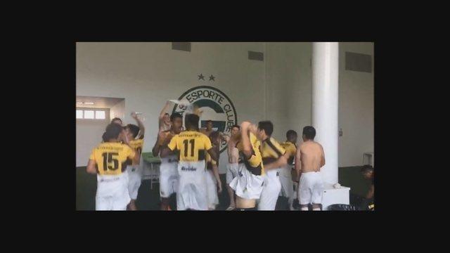 Sub-20 do Criciúma comemora classificação na Copa do Brasil da categoria