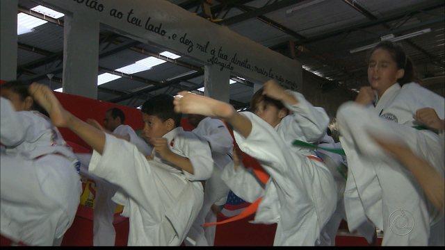 Caratecas paraibanos sonham em disputar uma Olimpíada