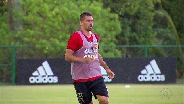 Diego Souza é a arma do Sport contra o Palmeiras