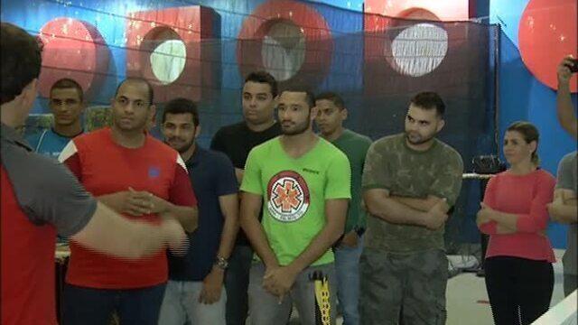 Desafio de paintball reúne atletas de vários esportes na capital
